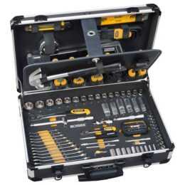 IRONSIDE Chariot à outils 130 pièces