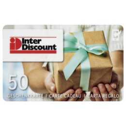 Interdiscount Carte cadeauCHF 50.00
