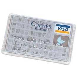 DUFCO Kreditkartenhülle glatt