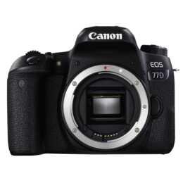 CANON EOS 77D (24.2 MP, WLAN, Bluetooth, NFC)