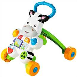 FISHER-PRICE Giocattoli da spingere Mon trotteur zebre parlant (francese)