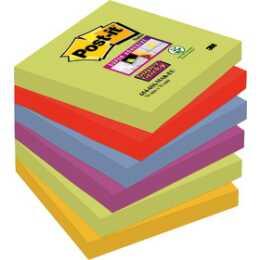 3M Post-it Super Sticky Haftnotizen Marrakesch Collection