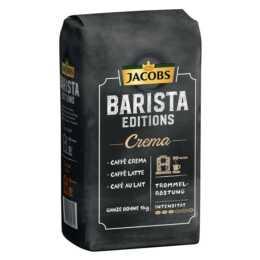 JACOBS Grains de café Espresso lungo Barista Crema (1000 g)