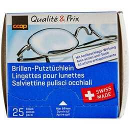 COOP QUALITÉ & PRIX Brillenputztüchlein Super Clean (25 Stück)