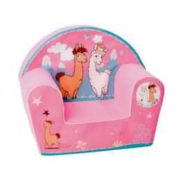 KNORRTOYS Fauteuil d'enfant LaLaLama Lounge (Pink)