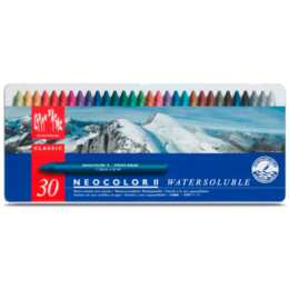 CARAN D'ACHE Wachspastelle Neocolor II 30-farbig