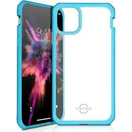 ITSKINS Backcover TPU (iPhone 11, Bleu, Transparent)