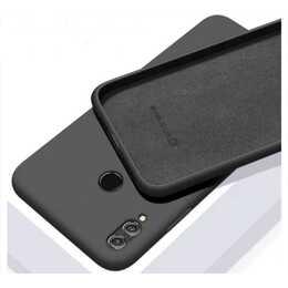 EVELATUS Backcover Soft Silicone (Redmi Note 8, Schwarz)
