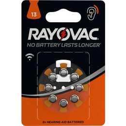 RAYOVAC 13 Batterie (Hörgeräte, PR48, 8 Stück)