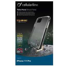 CELLULAR LINE Bumper Tetra Force Shock-Twist (iPhone 11 Pro, Transparent)
