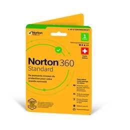 NORTON 360 Standard (Abbonamento, Francese)