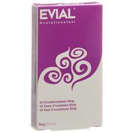 EVIAL Ovulationstest Strip (10 Stück)