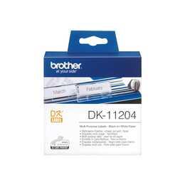 BROTHER DK-11204 Etiketten (17 x 54 mm)