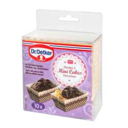 DR. OETKER Backförmchen Mini Cakes 10 Stück