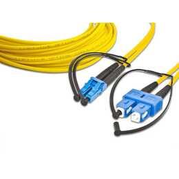 LIGHTWIN Cavo di rete (LC Single-Modus, SC Single-Modus, 2 m)