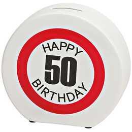 SOMBO Happy Birthday 50 Sparbüchse