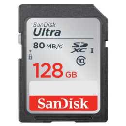 SANDISK Speicherkarte Ultra SDXC 128 GB