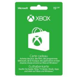 Xbox  Live Card CHF 15 (ESD, DE, FR)