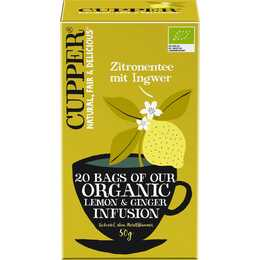 CUPPER Tè di frutti (Bustina di tè, 20 pezzo)