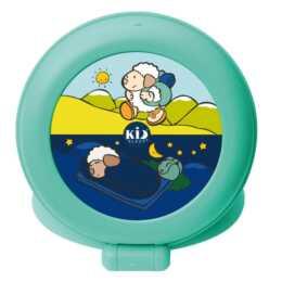 """PABOBO Kid'Sleep """"Globetrotter"""" (Grün, Kinderwecker)"""