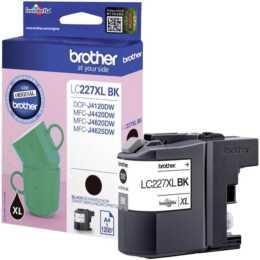 BROTHER LC-227XLBK  (Schwarz, 1 Stück)