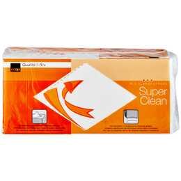 COOP QUALITÉ & PRIX Papierhandtücher Super Clean (200x)