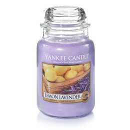 YANKEE CANDLE Lemon Lavender Duftkerze (Zitrus, Lavendel)