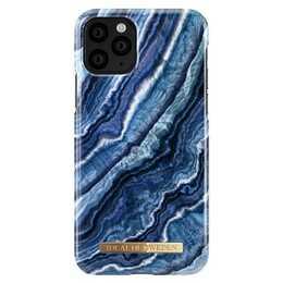 IDEAL OF SWEDEN Backcover Indigo Swirl (iPhone 11 Pro, Blau)