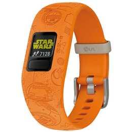 GARMIN vívofit jr. 2 Star Wars Light Side (Taglia unica, Orange)