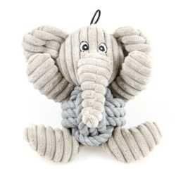 SWISSPET Peluche Knoti Elefant (18 cm)