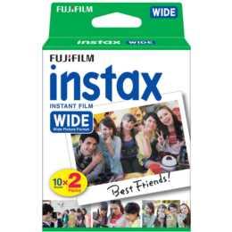 FUJIFILM Instax Films couleur grand format 2x 10 feuilles