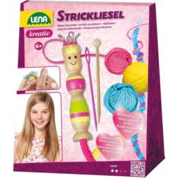 LENA Strickliesel (16 cm, Mehrfarbig)