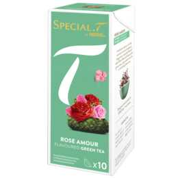 SPECIAL-T Rose Amour Tè verde (Tè in capsula, Special.T, 10 pezzo)