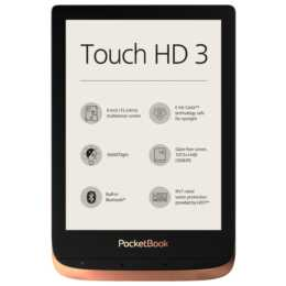 "POCKETBOOK Touch HD 3 (6"", Bluetooth, WLAN, 16 GB)"