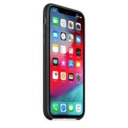 APPLE iPhone XS étui en silicone, noir