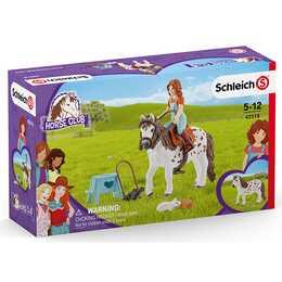 SCHLEICH Pferde HC Mia und Spotty