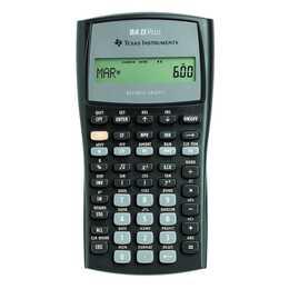 TEXAS INSTRUMENTS TI BA II Plus Calculatrice financière (Batterie / Accumulateur)