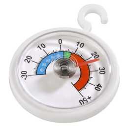 XAVAX Kühl-/Gefrierthermometer (Weiss)