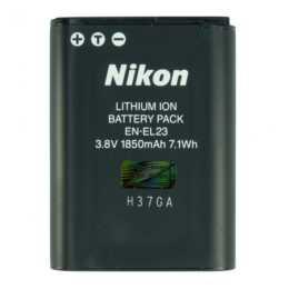 NIKON EN EL23 batteria della fotocamera, ioni di litio, 1850 mAh