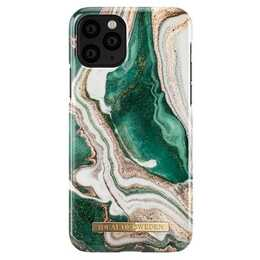 IDEAL OF SWEDEN Backcover Golden Jade Marble (iPhone 11 Pro, Mehrfarbig)