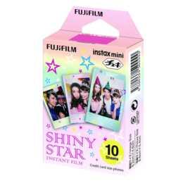 FUJIFILM Shiny Star Instax Mini Sofortbildfilm, 10 Blatt