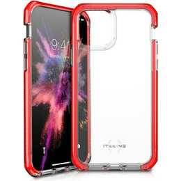 ITSKINS Backcover (iPhone 11 Pro Max, Rouge, Transparent)