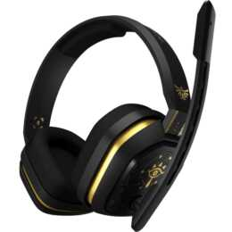 ASTRO GAMING A10 The Legend of Zelda: Breath of the Wild (On-Ear, Nero, Oro)