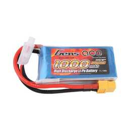 GENS ACE Accus (Lithium-Polymer, 1000 mAh, 11.1 V)