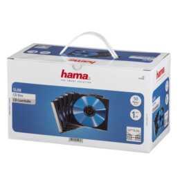 HAMA CD/DVD/BD-Leerhülle Slim, 50 Stück
