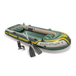 INTEX Schlauchboot Seahawk 4 (351 cm, 4 Personen)