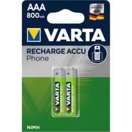 VARTA Akku (AAA / Micro / LR03, 2 Stück)