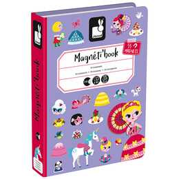 JANOD Magnetbuch Prinzessin
