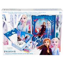 FROZEN Tagebuch Frozen 2  (Set ';Mehrfarbig)