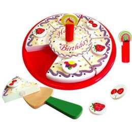 NUOVI TOYS CLASSIC TOYS Cibo Torta di compleanno per il taglio